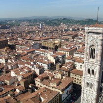 Florence from the top of the Dome
