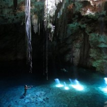 Just the most epic swimming hole ever... Cenote 2